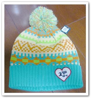 ハレイワのニット帽